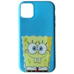 Чехол JOY for iPhone XS Max SPONGE BOB Blue