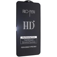Защитное стекло PRO-FLEXI HD+ for iPhone XS Max/11 Pro Max Black тех упаковка