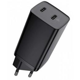 СЗУ Baseus GaN2 Lite Quick ChargerC+C 65W EU Black CCGAN2L-E01