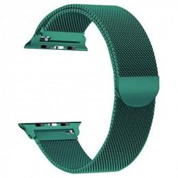 Ремешок Apple Watch Milanese Loop BOX 42/44 Forest green