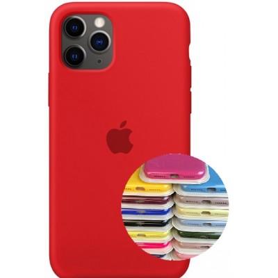 Купить оптом Silicone Case Full for iPhone 11 Pro Max (14) red опт