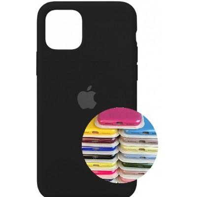 Купить оптом Silicone Case Full for iPhone 11 Pro Max (18) black опт