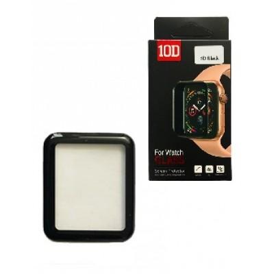Купить оптом Защитное стекло 10D PET+ PMMA for Watch 40 mm black Retail Box опт