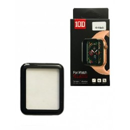 Защитное стекло 10D PET+ PMMA for Watch 44 mm black Retail Box