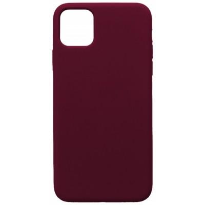 Купить оптом GRAND Full Silicone Case for iPhone 11 (52) marsala опт