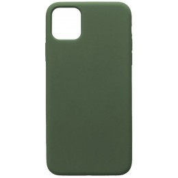 GRAND Full Silicone Case for iPhone 11 Pro Max (58) pine green