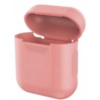 Чехол for AirPods силиконовый SLIM тех.пак Pink