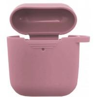 Чехол for AirPods силиконовый SLIM тех.пак Pink sand
